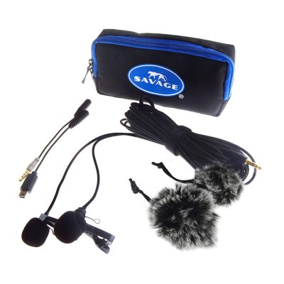 Savage Dual Head Microphone