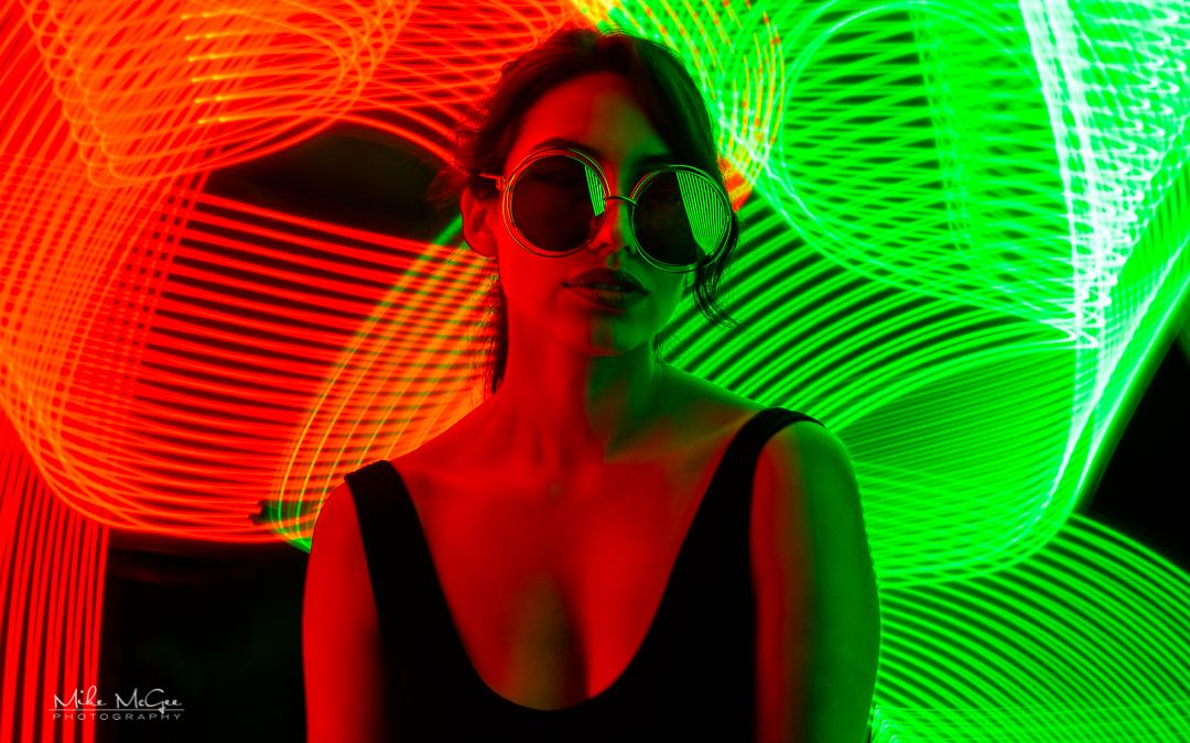 Master Creative Portrait Lighting with the RGB Light Painter Pro LED Wand