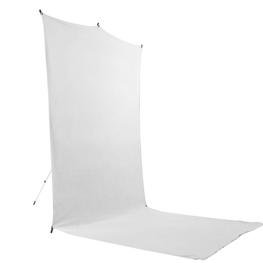 Savage Floor Extended White Backdrop Travel Kit