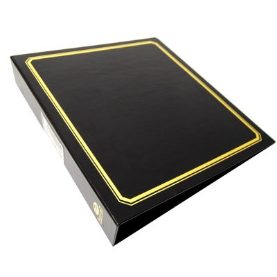 savage 3 ring binder with dust cover