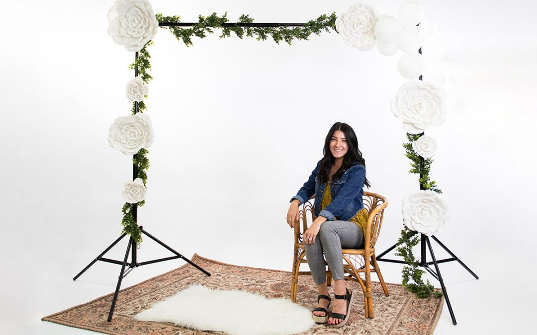 5 Styles for a Bridal or Baby Shower Backdrop