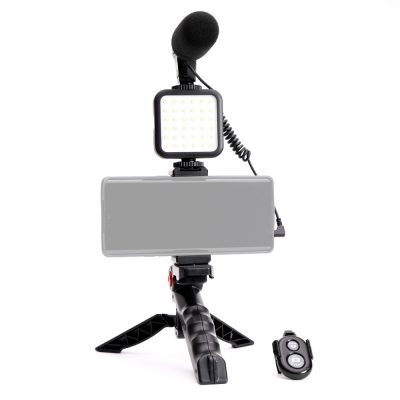 savage mobile vlogging kit with microphone